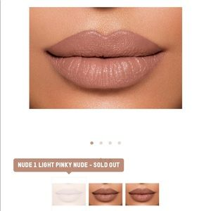 SOLD OUT KKW lipstick in shade nude #1